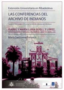 Cartel Archivo Indianos - Modernismo