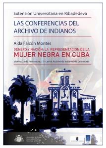 Cartel Archivo Indianos - DCHOS Mujer Cuba 24-11-2017-3