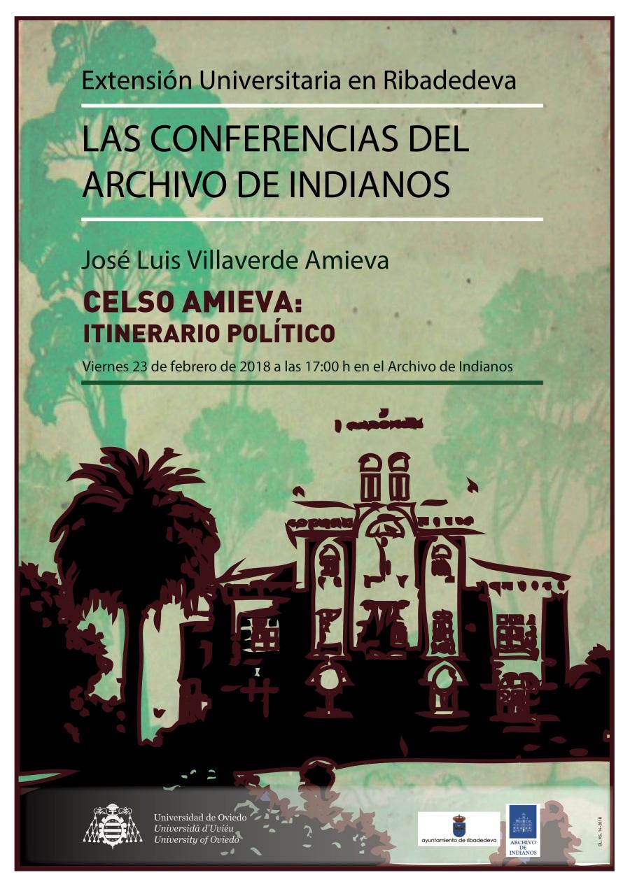 Cartel Archivo Indianos - José Luis Villaverde Amieva