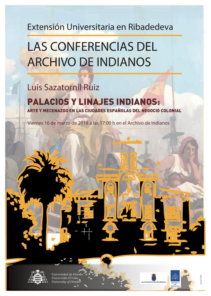 Cartel Archivo Indianos - Luis Sazatornil