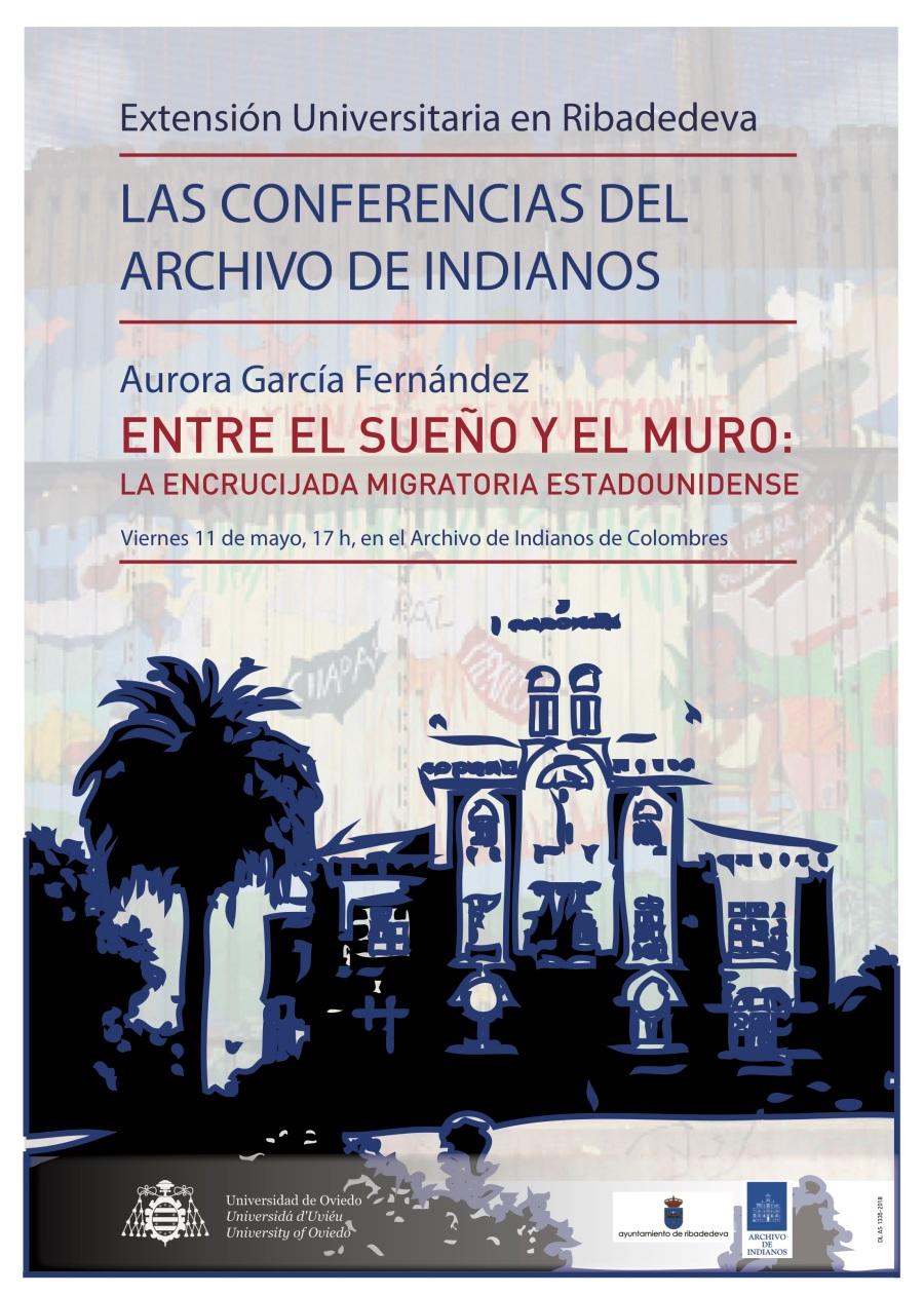Cartel Archivo Indianos - Aurora García Fernández