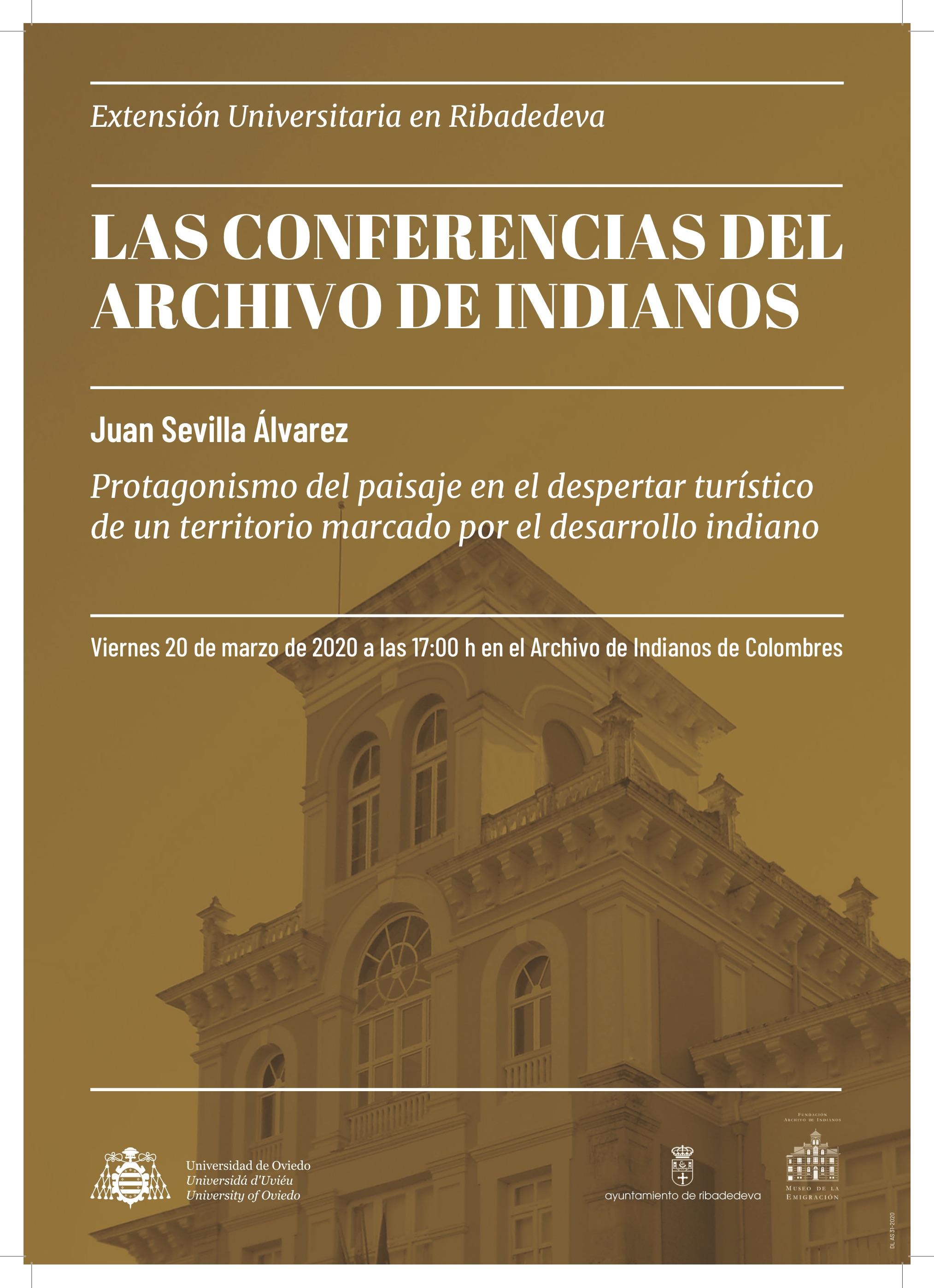 Cartel_Archivo_Indianos_Juan Sevilla